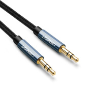 Aux Cable,Ugreen 3.5mm Male to Male Audio Cable Auxiliary cord for iphone, ipad and Android phones.