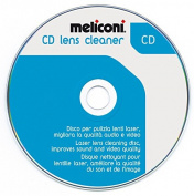 Meliconi 621011 Cleaning Disc for CD Player - Blue