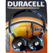 Duracell Folding Stereo Headset with Microphone