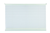 Mydeco Klemmfix Tensioned Folding Plissé Shutters in Many Colours and Sizes 50 x 130 cm white