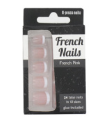 Invogue French Nails False Nails x 24 - French Pink by Invogue