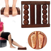 4 Rod Foot Wooden Roller Acupressure Massager Reflexology Tools for Body Stress, Pain Relief, Gift for Christmas or Birthday by Affaires W-40154