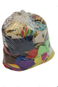 Approx 1.5 KILO bag of fabric remnants-Fabric off cuts-Perfect for scrapbooking, Card making, Doll clothes & all other Craft or Hobbying