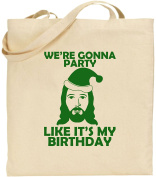 We're Gonna Party Birthday Large Tote Shopping Xmas Cool Celebration Bag Gift