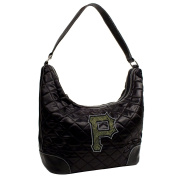 MLB Sport Noir Quilted Hobo Purse