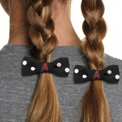 MLB Bow Pigtail Holder