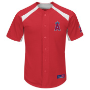 MLB Los Angeles Angels Men's Mike Trout 27 Fever Player Jersey