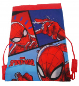 Spiderman Trainer Bag Gym Tote, 44 cm, Red