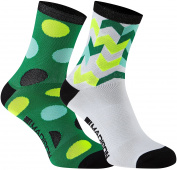 Madison Sportive Mid Twin Pack Ladies Cycling Socks