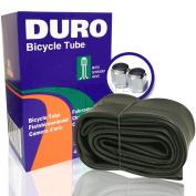 700 x 38c Cycle Inner Tube (Fits all sizes 700 x 38 - 43) Universal Schrader/Auto Valve  .   FREE Upgraded Skyscape Metal Valve Caps