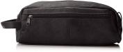 David King & Co. Large Multi Pocket Shave Kit, Black, One Size