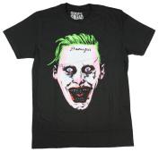 Bioworld DC Comics Suicide Squad Men's Creepy Joker T-Shirt