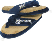 Milwaukee Brewers Ladies Thong Flip Flop Slippers