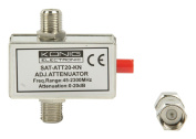 Konig Variable Attenuator 20DB with DC Pass Through