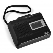 Trevi CR 410 Portable Cassette Recorder - Black