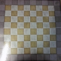 DC Comics - Chess collection 2 players cardboard chessboard 50x50 cms