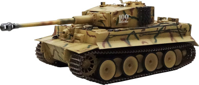 2..4.GHz 1./1.6. RC battle tank Tiger I (with infrared battle system)