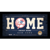 MLB 6x12 Home Sweet Home Sign with Game-Used Dirt