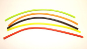SILICONE EXTENSION TUBING ASSORTED COLOURS FOR FLY TYING