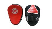 RHINGO Curved Focus Mitt Target Training Boxing MMA Leather