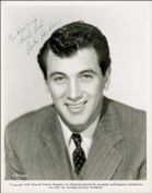 ROCK HUDSON AUTOGRAPH GLOSSY PHOTO PRINT