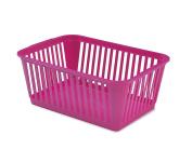 Whitefurze Handy Basket, Pink, 37cm