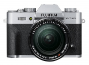 Fujifilm X-T20 Compact System Camera with XF 18-55 Lens - Silver