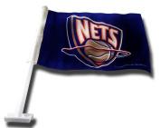 Rico New Jersey Nets Car Flag