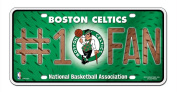 NBA Number One Fan Licence Plate