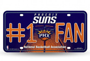 NBA Bling #1 Fan Metal Auto Tag