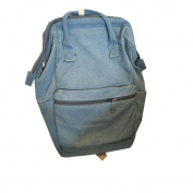 Oksale® Casual Retro Unisex Fashion Denim Travel Double Shoulder Backpack Bags School Bag Rucksack