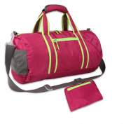 Freeprint Foldable Lightweight Travel Duffel Bag/Shopping Bag/Gym Tote/Shoulder Bag for Sports and Vacation