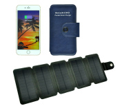 SOLARING® Green Portable Solar Charger 5V, Solar Paper, Solar Charger for iPhone, ipad, Smart iPhone and Emergency Using