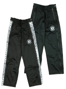 Brooklyn Nets NBA Big Boys Paisley Tear-Away Pants, Black