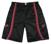 Miami Heat NBA Mens Big and Tall Mesh Shorts, Black