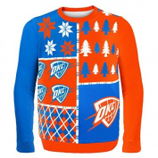 NBA Basketball 2014 Ugly Christmas Sweater Busy Block Design - Pick Team!