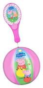 TAP BALL TOY RACKET PEPPA PIG + BALL 20 CM