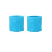 Lorsoul 7.6cm Cotton Sports Basketball Tennis Wrist Sweatband / Wristband Wrist Sweat band/Brace, Price/Pair