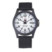 HANYI Mens Date Military Sports Analogue Quartz Army Wrist Watch