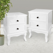 PAIR OF WOODEN BEDSIDE TABLES CABINET NIGHTSTANDS TABLES,BEDROOM FURNITURE