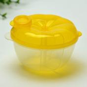 Infaye Powder Formula Dispenser and Snack Cup, Pumpkin Shaped