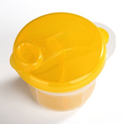 Infaye Powder Formula Dispenser and Snack Cup,Portable Travel Container Bottle