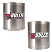 NBA Two Piece Stainless Steel Can Holder Set