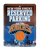 NBA Hi-Res Metal Parking Sign