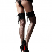 Creazy® Sexy Sheer Lace Top Thigh High Stockings Thigh Highs Hosiery Nets Stay Up