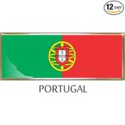 Portugal Flag Car Auto Trunk Fender Bumper Metal Emblem Badge