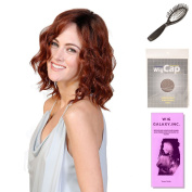 (4 Item Bundle) - (#BT-6038) Biscotti Babe by Belle Tress, Wig Brush, Booklet and a Free Wig Cap Liner.