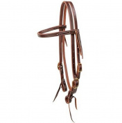 STT Browband Headstall Oiled and Double Stitched Leather