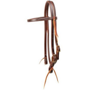 STT Browband Headstall Oiled Leather