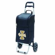 NCAA Insulated Cart Cooler with Wheeled Trolley